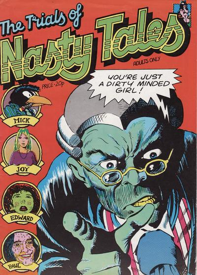 Cover for The Trials of Nasty Tales (Cozmic Comics/H. Bunch Associates, 1973 series)