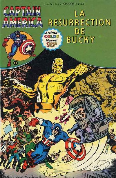 Cover for Captain America (Arédit-Artima, 1979 series) #[4]