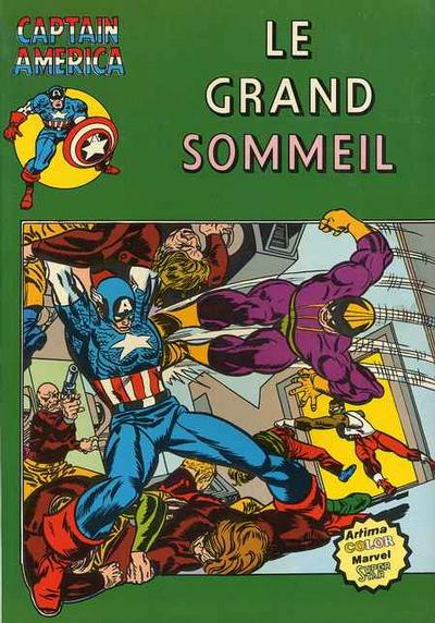 Cover for Captain America (Arédit-Artima, 1979 series) #10