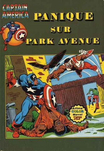 Cover for Captain America (Arédit-Artima, 1979 series) #11