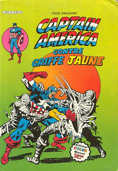 Cover for Captain America (Arédit-Artima, 1979 series) #16