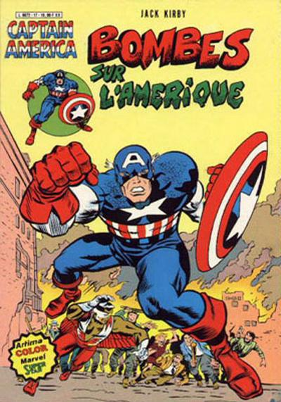Cover for Captain America (Arédit-Artima, 1979 series) #17