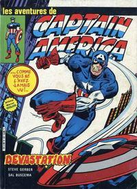 Cover Thumbnail for Captain America (Arédit-Artima, 1979 series) #22