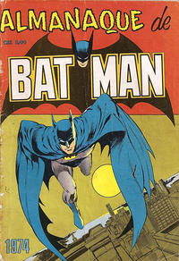 Cover Thumbnail for Almanaque de Batman (Editora Brasil-América [EBAL], 1964 series) #[1974]