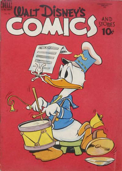 Cover for Walt Disney's Comics and Stories (Wilson Publishing, 1947 series) #86