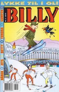 Cover Thumbnail for Billy (Hjemmet / Egmont, 1998 series) #3/2010