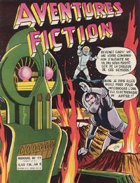 Cover Thumbnail for Aventures Fiction (Arédit-Artima, 1958 series) #19