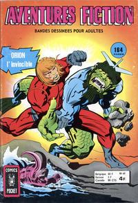 Cover Thumbnail for Aventures Fiction (Arédit-Artima, 1966 series) #49