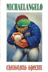 Cover Thumbnail for Teenage Mutant Ninja Turtles Michaelangelo Christmas Special (Mirage, 1990 series)