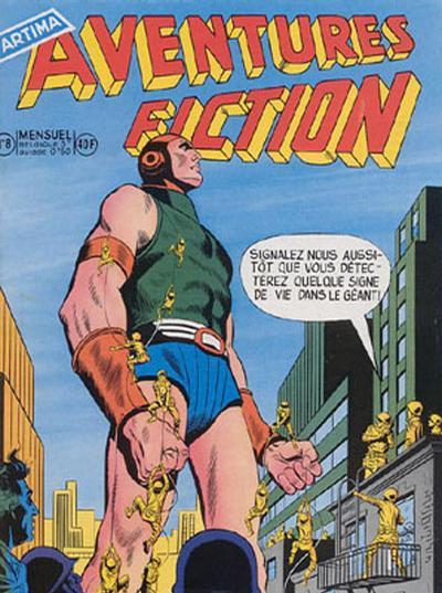 Cover for Aventures Fiction (Arédit-Artima, 1958 series) #8