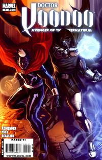 Cover Thumbnail for Doctor Voodoo: Avenger of the Supernatural (Marvel, 2009 series) #5