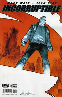 Cover Thumbnail for Incorruptible (Boom! Studios, 2009 series) #3 [Cover B]