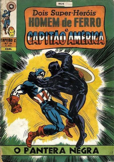 Cover for Capitão Z (3ª Série) (Editora Brasil-América [EBAL], 1967 series) #19