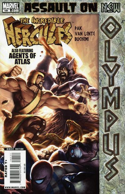 Cover for Incredible Hercules (Marvel, 2008 series) #141 [Variant Edition]