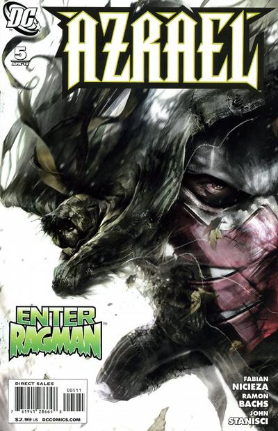 Cover for Azrael (DC, 2009 series) #5