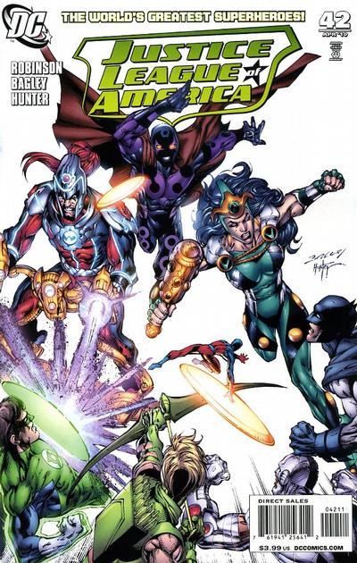 Cover for Justice League of America (DC, 2006 series) #42 [Ardiana Melo Variant Cover]