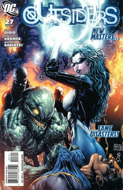 Cover for The Outsiders (DC, 2009 series) #27