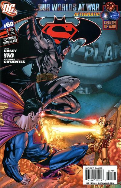 Cover for Superman / Batman (DC, 2003 series) #69