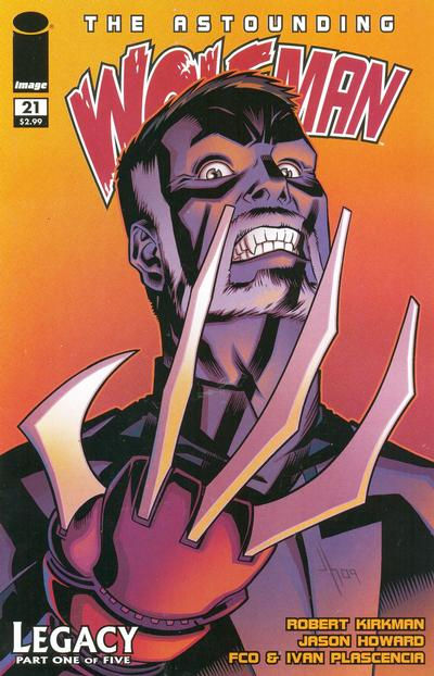 Cover for The Astounding Wolf-Man (Image, 2007 series) #21