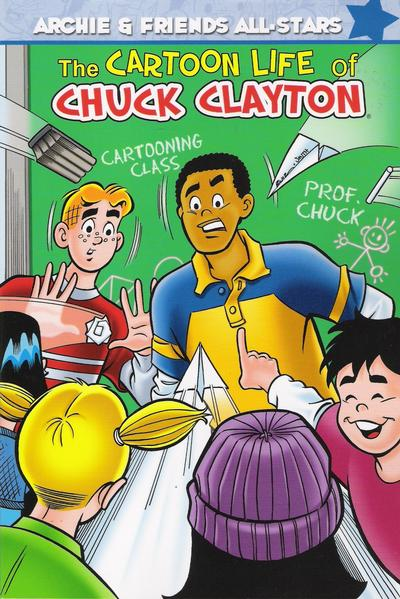 Cover for Archie & Friends All Stars (Archie, 2009 series) #3 - The Cartoon Life of Chuck Clayton