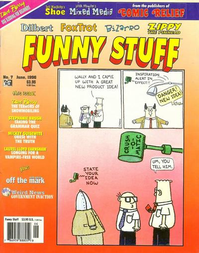 Cover for Funny Stuff (Page One, 1995 series) #7