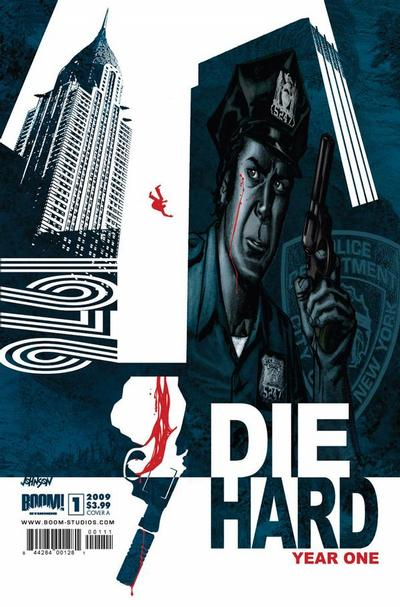 Cover for Die Hard: Year One (Boom! Studios, 2009 series) #1 [Cover D]