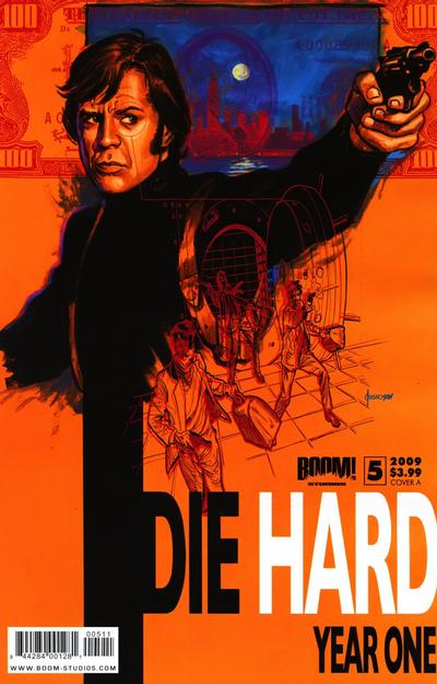 Cover for Die Hard: Year One (Boom! Studios, 2009 series) #5 [Cover A]