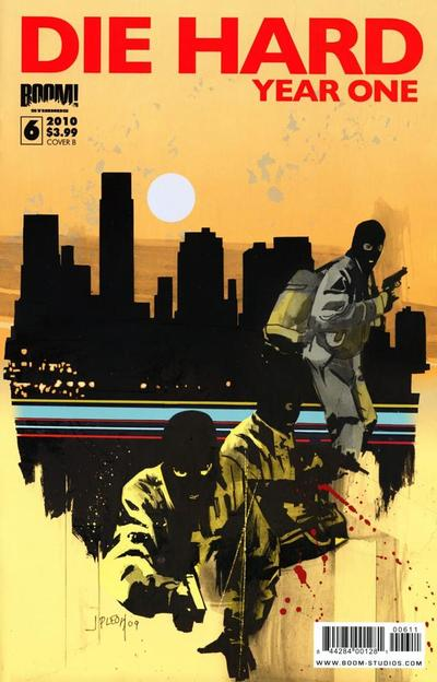 Cover for Die Hard: Year One (Boom! Studios, 2009 series) #6