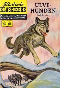 Cover Thumbnail for Illustrerte Klassikere [Classics Illustrated] (Illustrerte Klassikere / Williams Forlag, 1957 series) #30 - Ulvehunden [1. opplag]