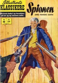 Cover Thumbnail for Illustrerte Klassikere [Classics Illustrated] (Illustrerte Klassikere / Williams Forlag, 1957 series) #46 - Spionen [1. opplag]