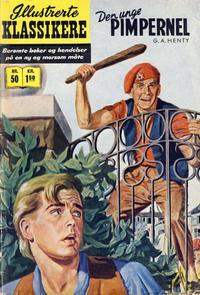 Cover Thumbnail for Illustrerte Klassikere [Classics Illustrated] (Illustrerte Klassikere / Williams Forlag, 1957 series) #50 - Den unge pimpernel