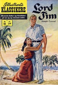 Cover Thumbnail for Illustrerte Klassikere [Classics Illustrated] (Illustrerte Klassikere / Williams Forlag, 1957 series) #55 - Lord Jim