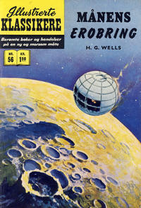 Cover Thumbnail for Illustrerte Klassikere [Classics Illustrated] (Illustrerte Klassikere / Williams Forlag, 1957 series) #56 - Månens erobring [1. opplag]