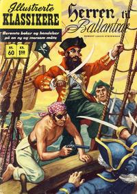 Cover Thumbnail for Illustrerte Klassikere [Classics Illustrated] (Illustrerte Klassikere / Williams Forlag, 1957 series) #60 - Herren til Ballantrae
