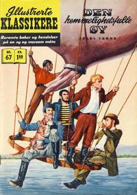 Cover Thumbnail for Illustrerte Klassikere [Classics Illustrated] (Illustrerte Klassikere / Williams Forlag, 1957 series) #67 - Den hemmelighetsfulle øy [1. opplag]