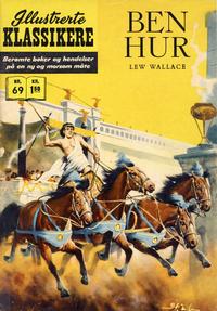 Cover Thumbnail for Illustrerte Klassikere [Classics Illustrated] (Illustrerte Klassikere / Williams Forlag, 1957 series) #69 - Ben Hur [1. opplag]