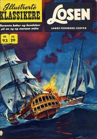 Cover Thumbnail for Illustrerte Klassikere [Classics Illustrated] (Illustrerte Klassikere / Williams Forlag, 1957 series) #93 - Losen