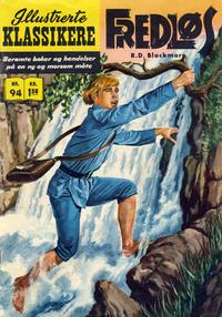 Cover Thumbnail for Illustrerte Klassikere [Classics Illustrated] (Illustrerte Klassikere / Williams Forlag, 1957 series) #94 - Fredløs [1. opplag]