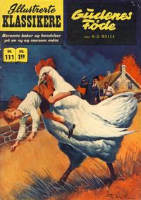 Cover Thumbnail for Illustrerte Klassikere [Classics Illustrated] (Illustrerte Klassikere / Williams Forlag, 1957 series) #111 - Gudenes føde