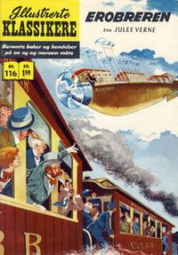 Cover Thumbnail for Illustrerte Klassikere [Classics Illustrated] (Illustrerte Klassikere / Williams Forlag, 1957 series) #116 - Erobreren