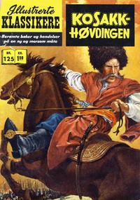 Cover for Illustrerte Klassikere [Classics Illustrated] (Illustrerte Klassikere / Williams Forlag, 1957 series) #125 - Kosakk-høvdingen [1. opplag]