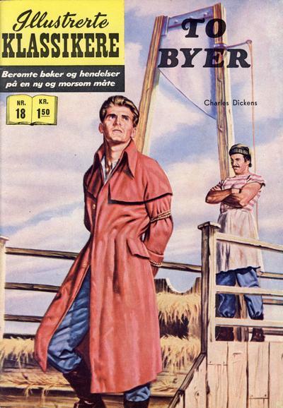 Cover for Illustrerte Klassikere [Classics Illustrated] (Illustrerte Klassikere / Williams Forlag, 1957 series) #18 - To byer [1. opplag]