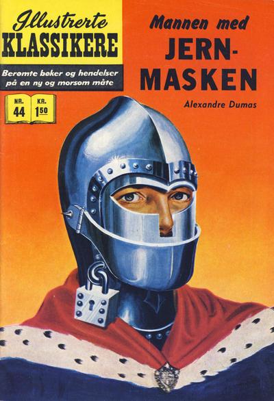 Cover for Illustrerte Klassikere [Classics Illustrated] (Illustrerte Klassikere / Williams Forlag, 1957 series) #44 - Mannen med jernmasken [1. opplag]
