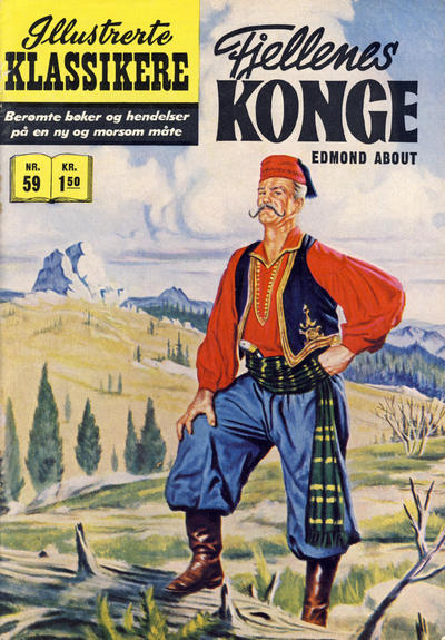Cover for Illustrerte Klassikere [Classics Illustrated] (Illustrerte Klassikere / Williams Forlag, 1957 series) #59 - Fjellenes konge