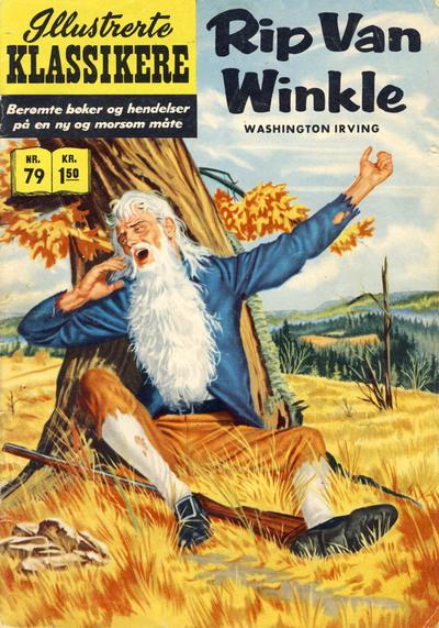 Cover for Illustrerte Klassikere [Classics Illustrated] (Illustrerte Klassikere / Williams Forlag, 1957 series) #79 - Rip Van Winkle
