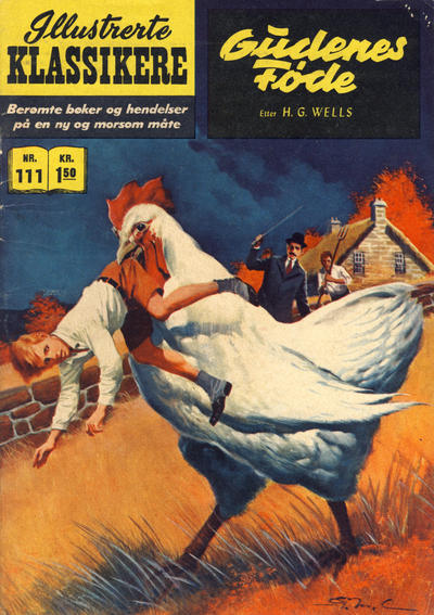 Cover for Illustrerte Klassikere [Classics Illustrated] (Illustrerte Klassikere / Williams Forlag, 1957 series) #111 - Gudenes føde