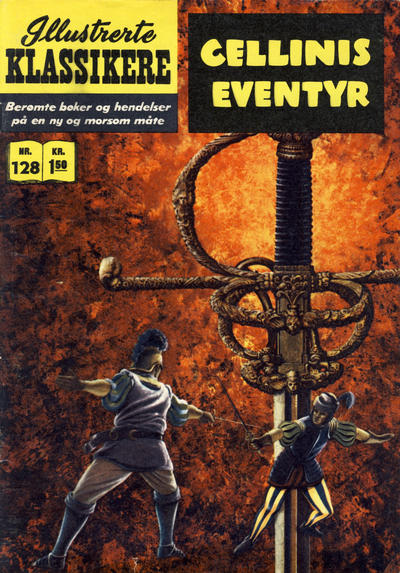 Cover for Illustrerte Klassikere [Classics Illustrated] (Illustrerte Klassikere / Williams Forlag, 1957 series) #128 - Cellinis eventyr
