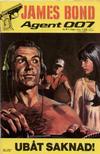 Cover for James Bond (Semic, 1965 series) #9/1968