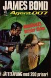 Cover for James Bond (Semic, 1965 series) #30/[1974]