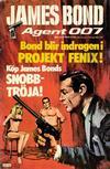 Cover for James Bond (Semic, 1965 series) #42/[1976]